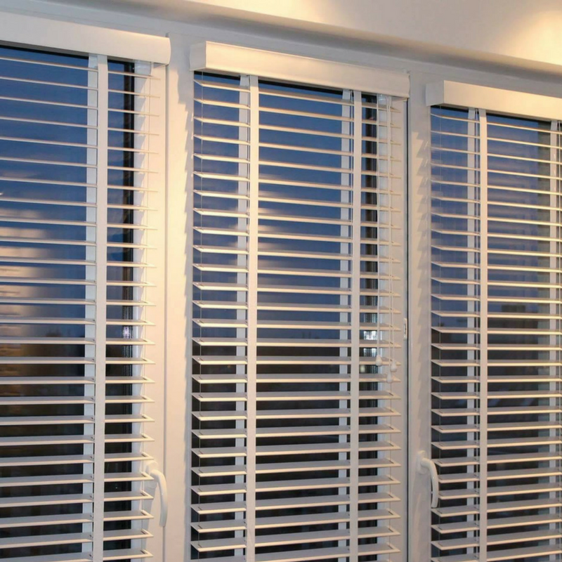 wooden blinds in London