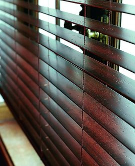 Wooden blinds London